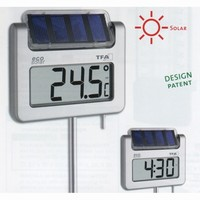 """""AVENUE"""" Digitales Solar-Gartenthermometer"